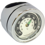 BAR MOUNT CLOCK/THERMOMETERS