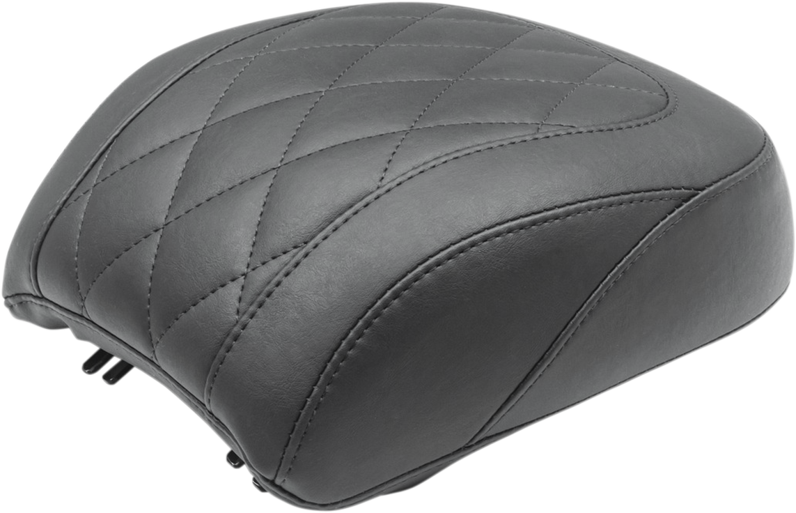 Mustang Wide Tripper Diamond Rear Passenger Pillion Pad 18-20 Harley Softail
