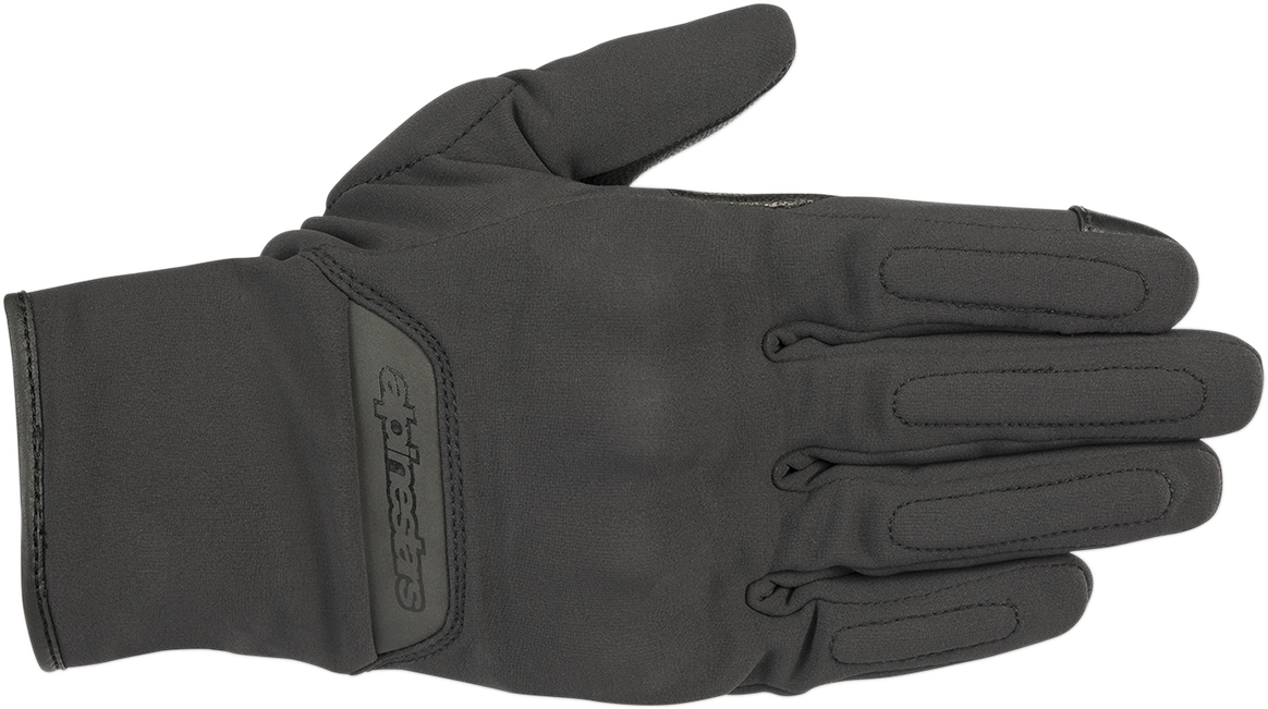 Alpinestars Mens C1 V2 Wind Stopper Black Motorcycle Riding Street Racing Gloves