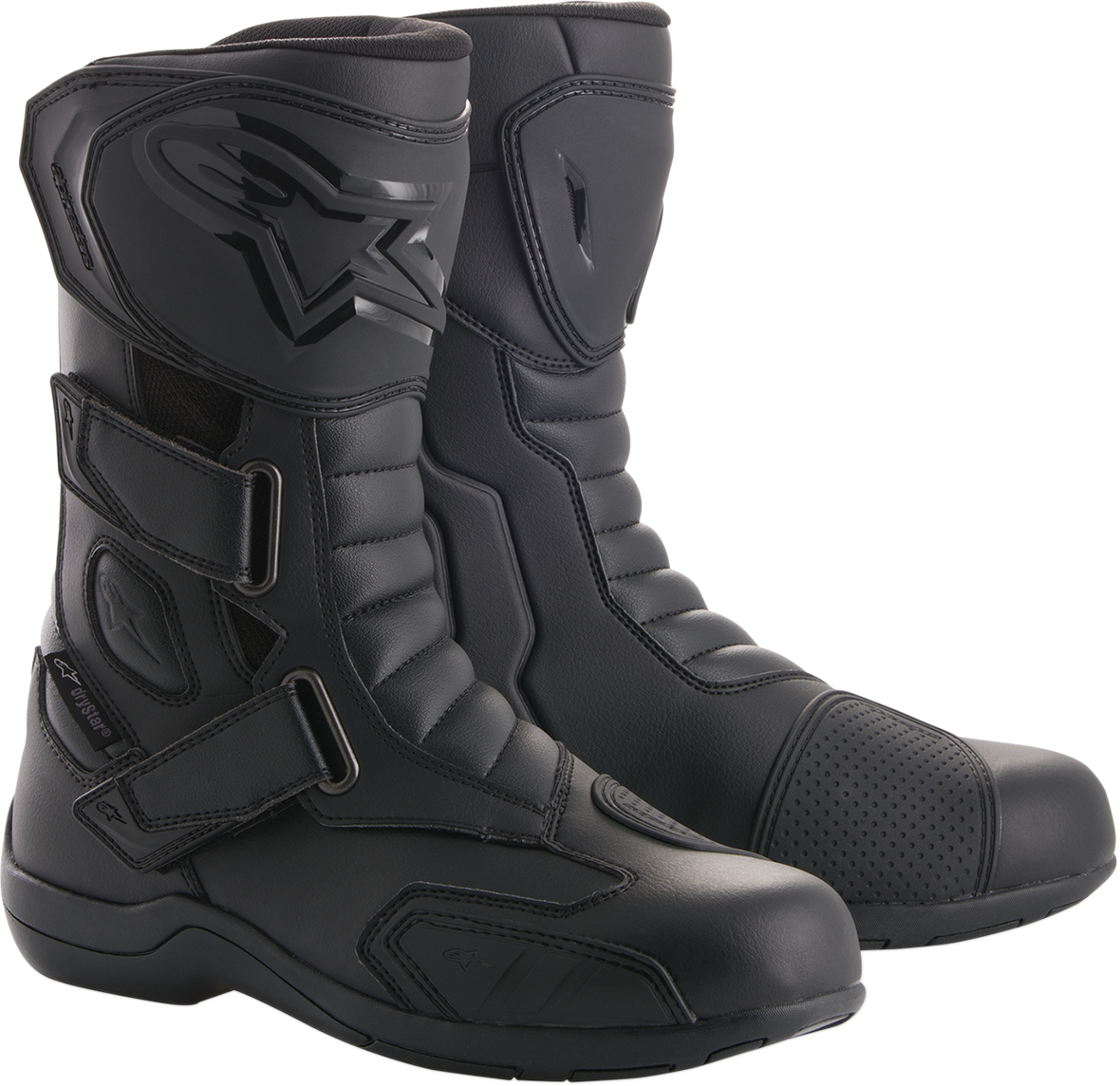 Alpinestars Mens Radon Drystar Black Motorcycle Riding Street Road Racing Boots