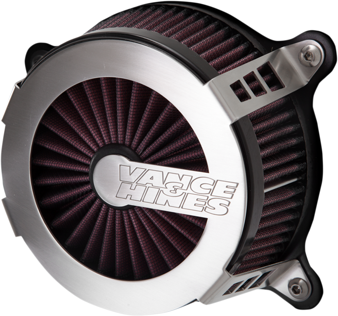 Vance & Hines V02 Cage Fighter Air Filter Kit for 04-19 Harley Sportster XLL XLN