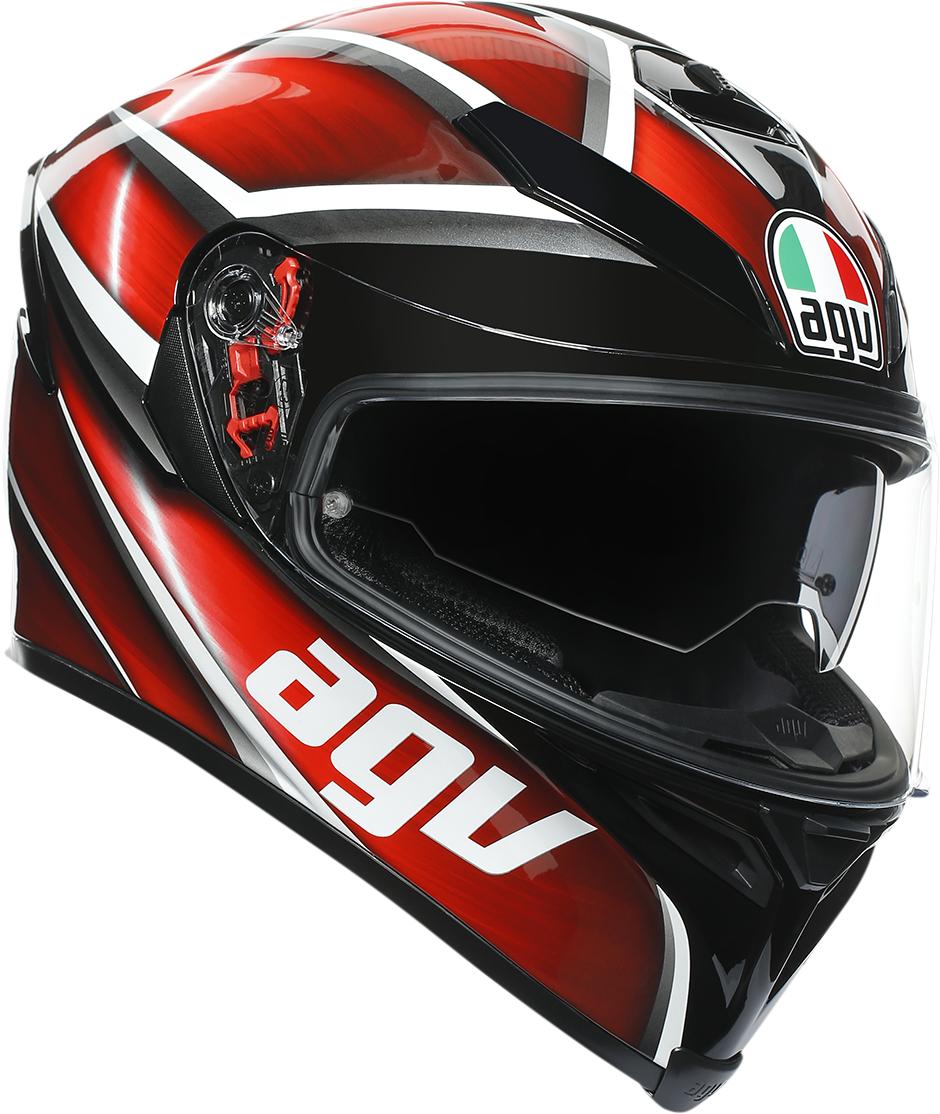AGV K5S Tempest Unisex Adult Fullface Motorcycle Riding Street Racing Helmet