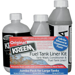 FUEL TANK LINER AND TANK PREP COMBO PAKS