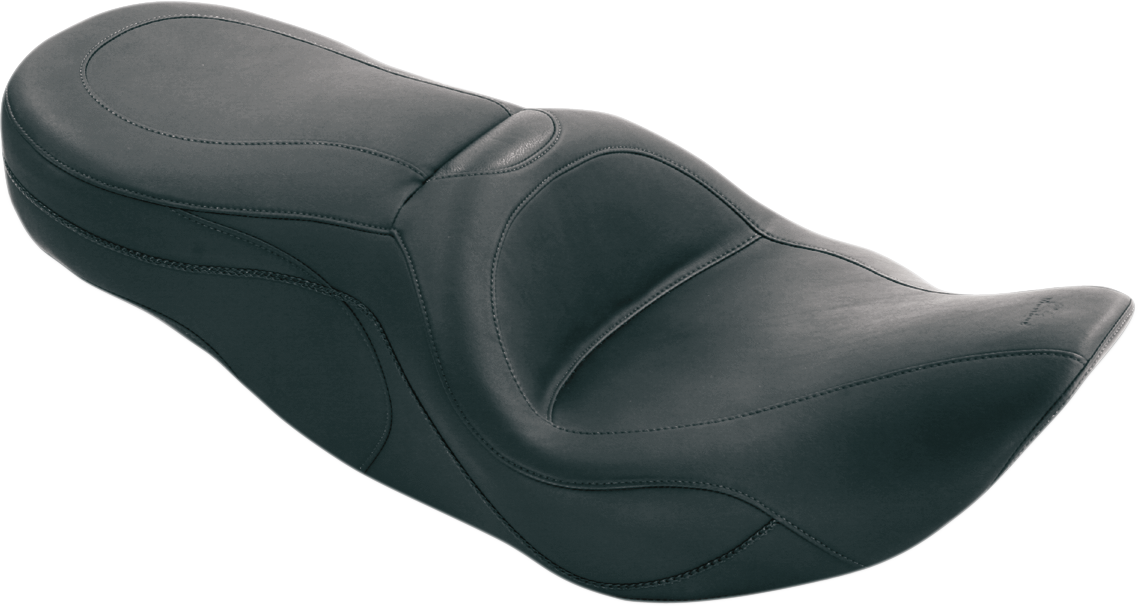 Mustang Sport 2-Up One Piece Vinyl Seat for 97-07 Harley Touring FLHR FLHX FLHRC