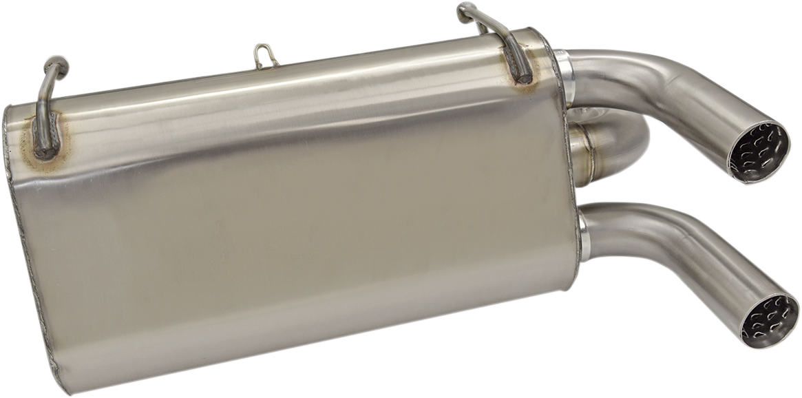 Bassani Stainless Steel UTV Slip on Muffler for 14-17 Polaris RZR XP 1000 ESP