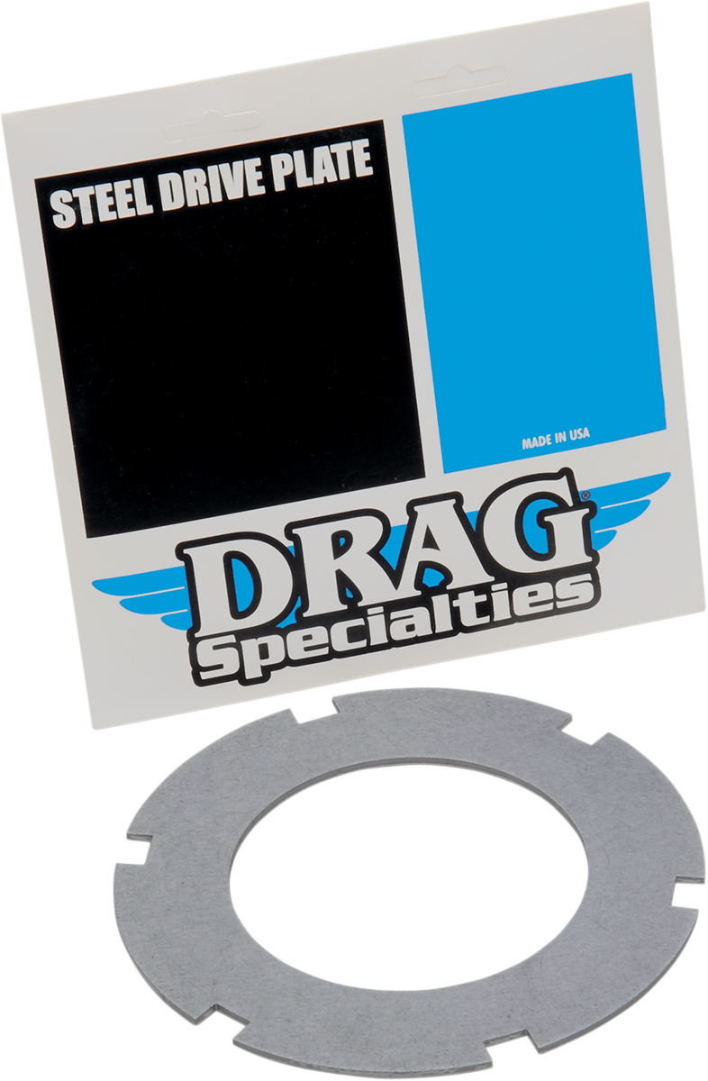 Drag Specialties Steel Clutch Plate for 41-67 Harley Touring Knucklehead Softail
