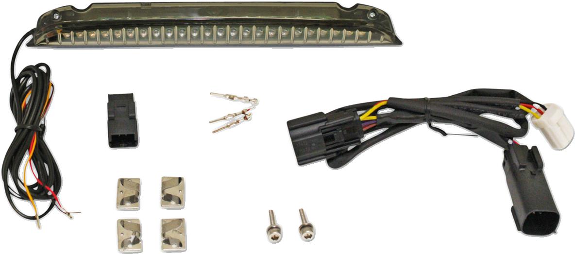 Custom Dynamics LED Luggage Rack Light Bar for 14-19 Harley Touring Tri Glide