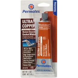 ULTRA COPPER® MAXIMUM TEMPERATURE RTV SILICONE GASKET MAKER