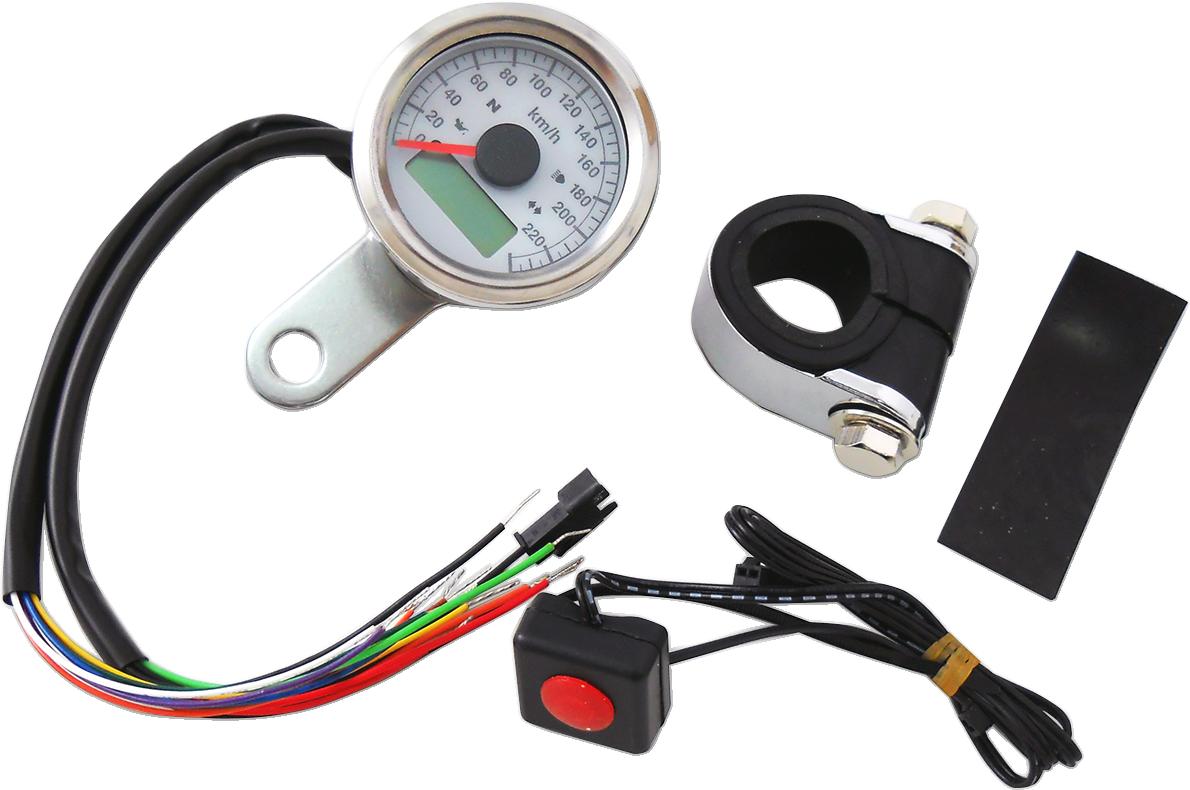 12v led wiring instructions drag specialties kph mini 1 7 8 quot electronic speedo 12v led wiring diagram #6