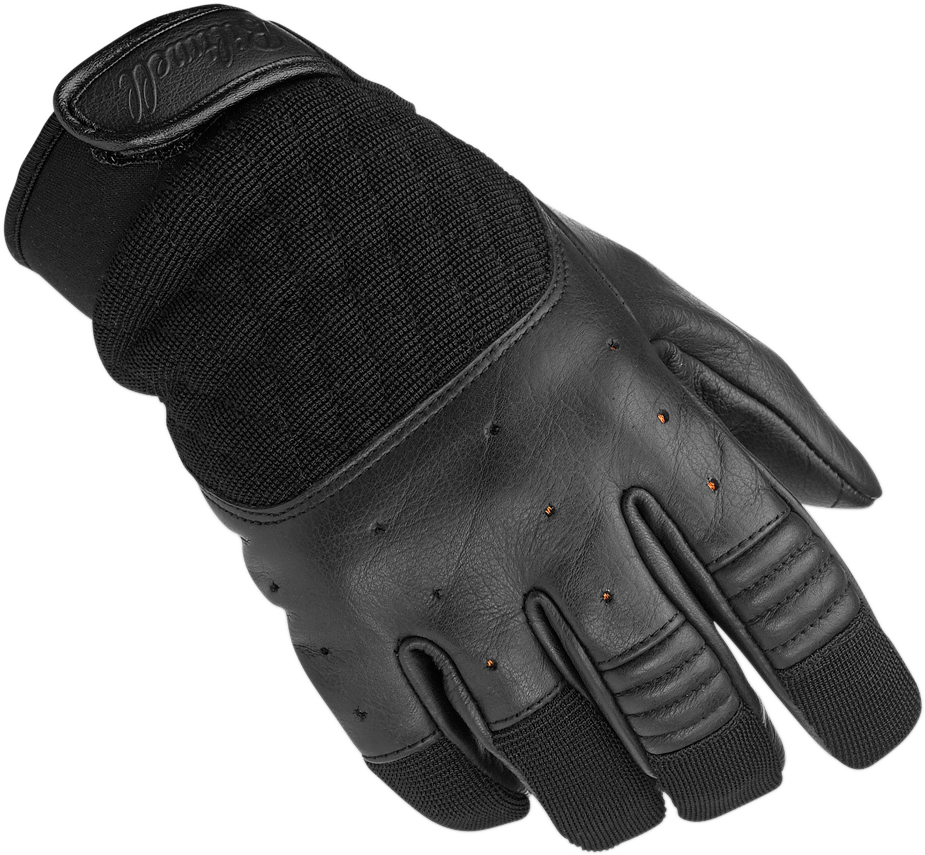 Biltwell Mens Black Bantam XL Motorcycle Riding Street Racing Riding Gloves