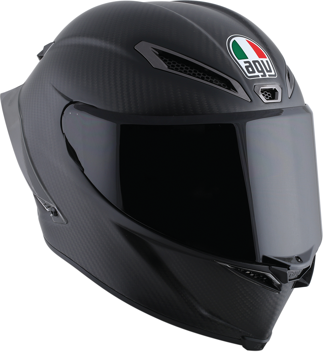Agv Matte Black Pista GP R Full Face Motorcycle Riding Street Racing Helmet
