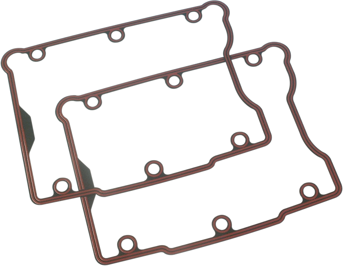 James Gasket Rubber Steel Rocker Cover Gaskets for 99-17 Dyna Touring Softail