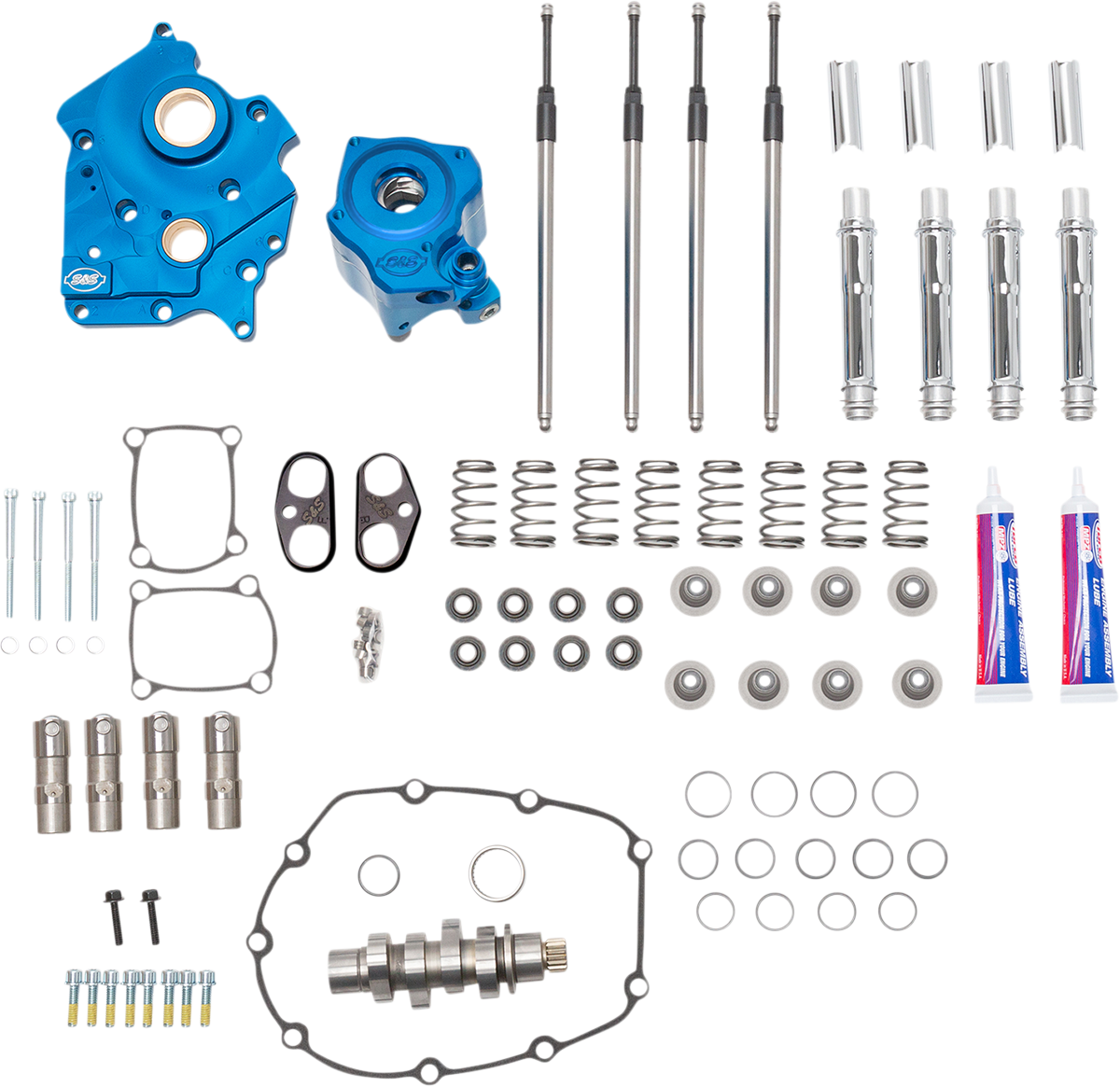 S&S Water Cooled 540 Camshaft Kit 17-20 Harley M8 Touring Softail FLHR FLSL FLFB