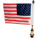 TOUR PACK SOLID FLAG MOUNTS WITH FLAG