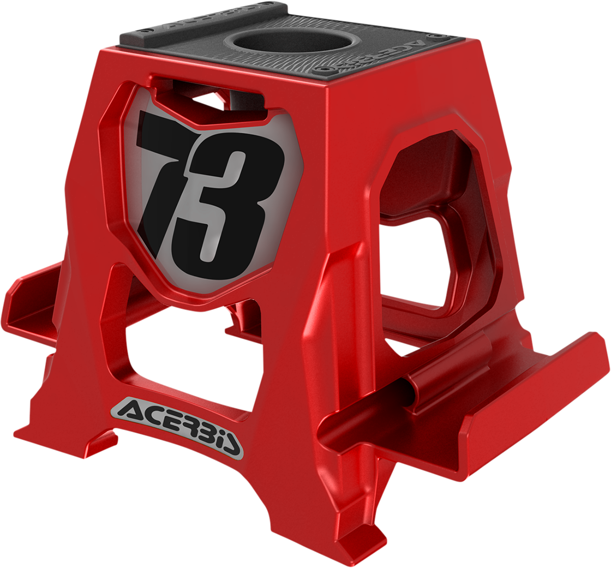 Acerbis Red Universal Cell Phone Table Dirbike Stand Holder