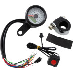 "17/8​"" MINI PROGRAMMABLE ELECTRONIC SPEEDOMETERS WITH INDICATOR LIGHTS"