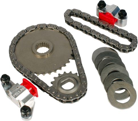Feuling Motorcycle Chain Conversion Kit 02-06 Harley Dyna Touring Softail FLHT