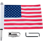 FLAG MOUNTS WITH U.S.A. FLAG