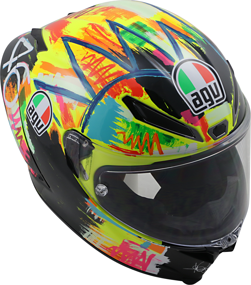 Agv Pista LTD Unisex Fullface Dual Sport Motorcycle Riding Street Racing Helmet