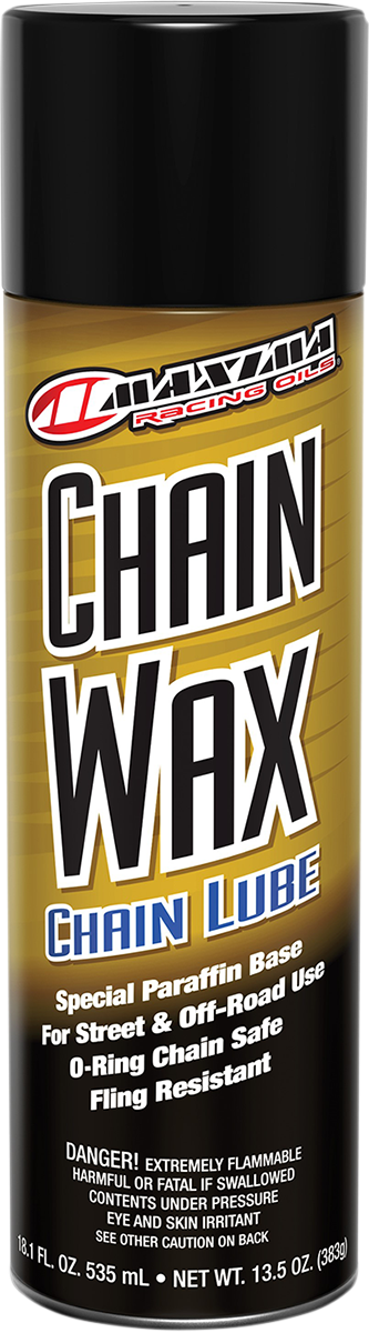 Maxima 14oz Aerosol Spray Can Motorcycle Offroad Chain Wax Mineral Lubricant