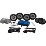 200 WATT AMP/FOUR SPEAKER KIT