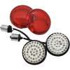 RETRO RED LED TURN SIGNAL FACES
