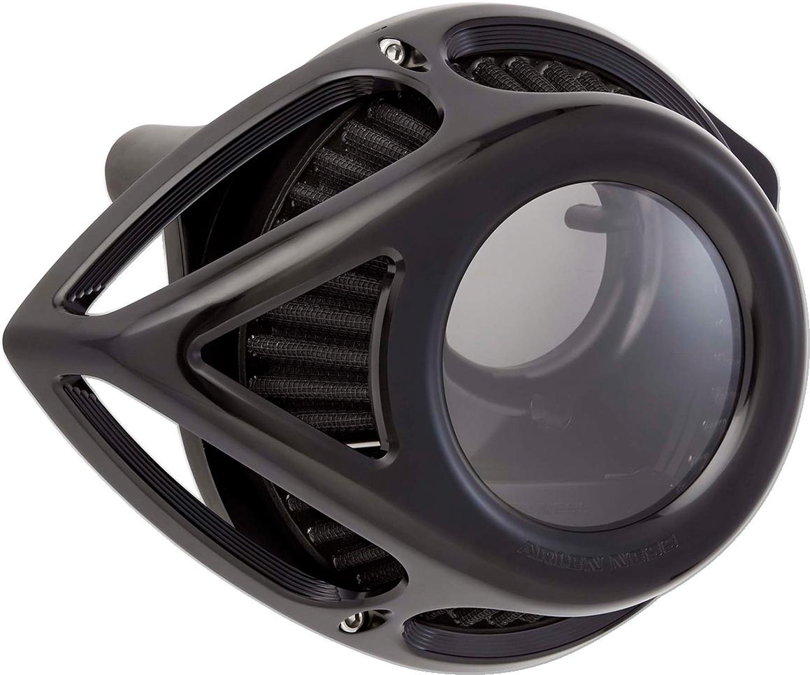 Arlen Ness Black Clear Tear Air Cleaner Filter Kit 17-19 Harley Touring FLHX