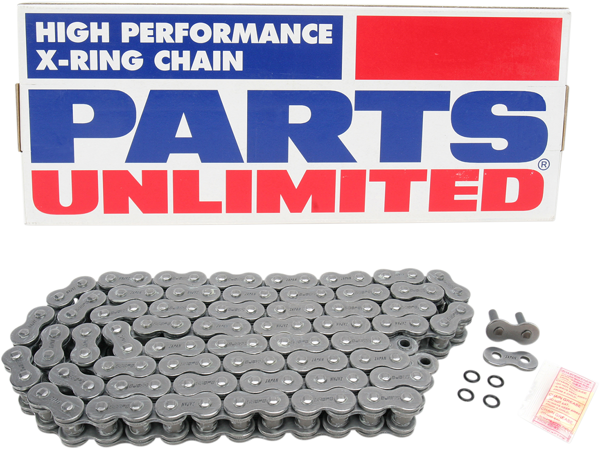 Parts Unlimited Universal Motorcycle Rivet 530 x 100 X-Ring 900cc Drive Chain