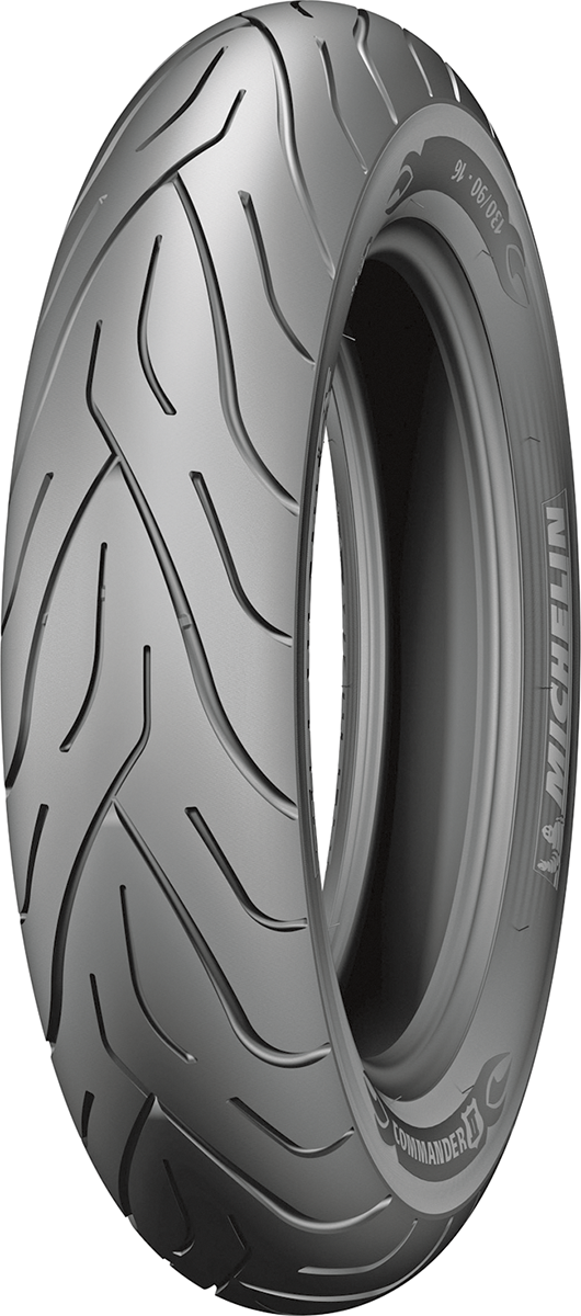 Michelin Commander II Black 72H Front MT90B16 Tubeless Tire for Harley Davidson