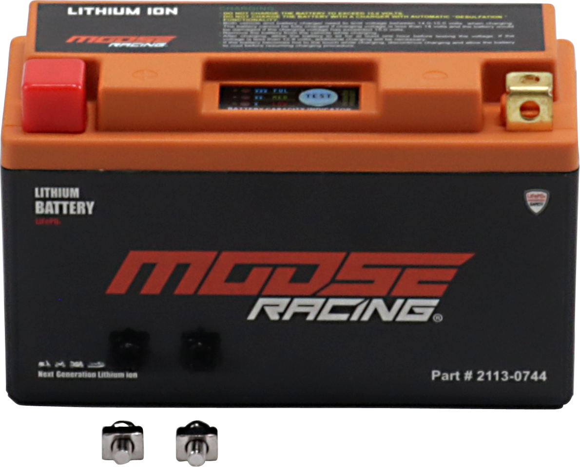 Moose Racing Lithium Ion Battery 99-15 Ducati Yamaha Triumph Suzuki Kawasaki