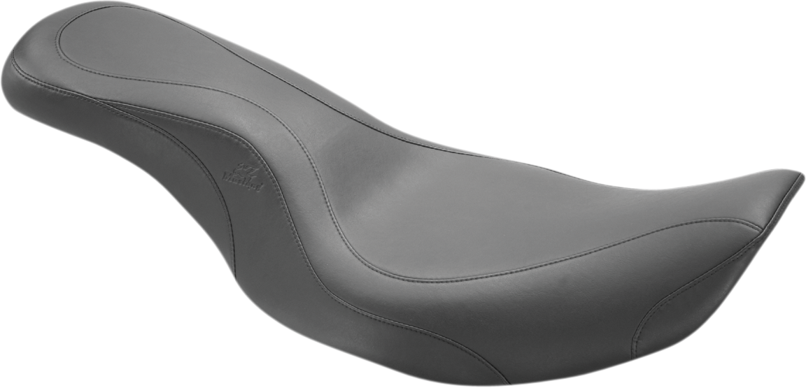 Mustang Daytripper Leather 2-Up Seat for 97-06 Harley Touring FLHR FLHX FLHRC