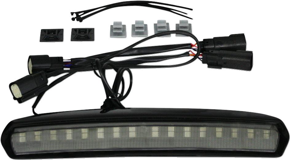 Custom Dynamics Black Smoke Lens Tour Pak Light 14-20 Harley Touring FLHTK