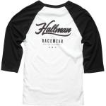 HALLMAN ORIGINAL RAGLAN 3/4 SLEEVE SHIRT