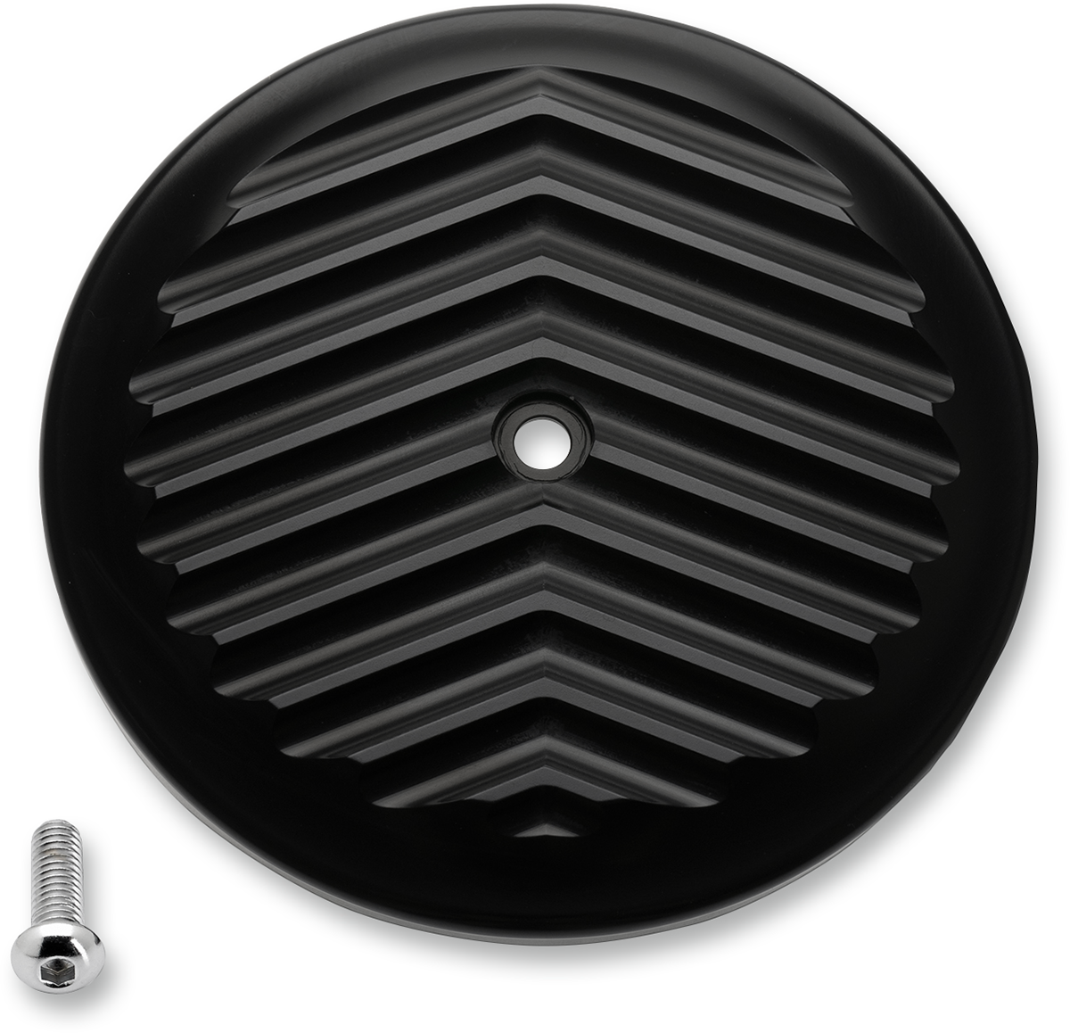 Joker Machine Black Fined Air Cleaner Cover 99 17 Harley