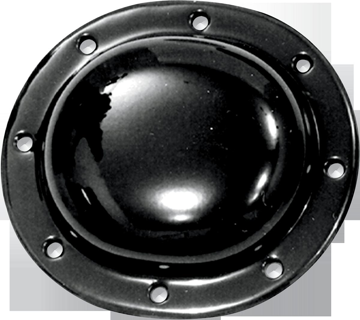 Paughco Gloss Black 8 Hole Derby Cover for 36-64 Harley Knucklehead Hydra Glide