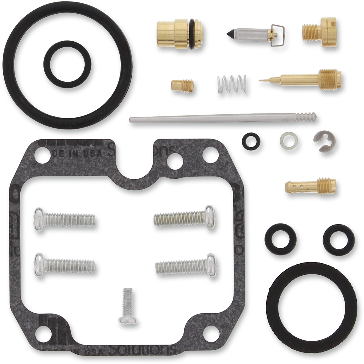 Moose Racing Atv Carburetor Repair Kit for 04-13 Yamaha YFM125 Grizzly
