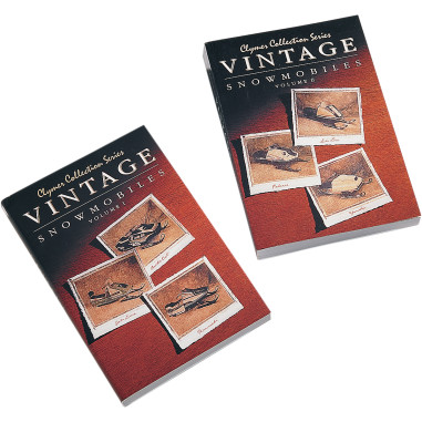 COLLECTION SERIES VINTAGE SNOWMOBILE MANUALS