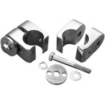 CHROME UNIVERSAL ACCESSORY MOUNTS