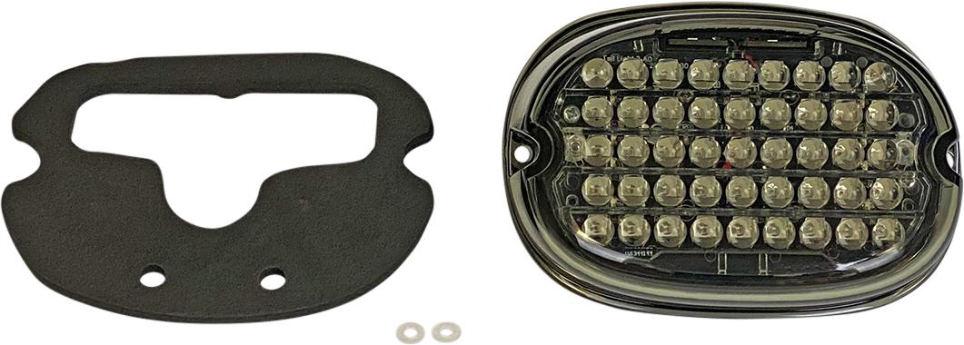 Custom Dynamics Smoke Top Window LED Taillight Kit 99-20 Harley Touring Softail