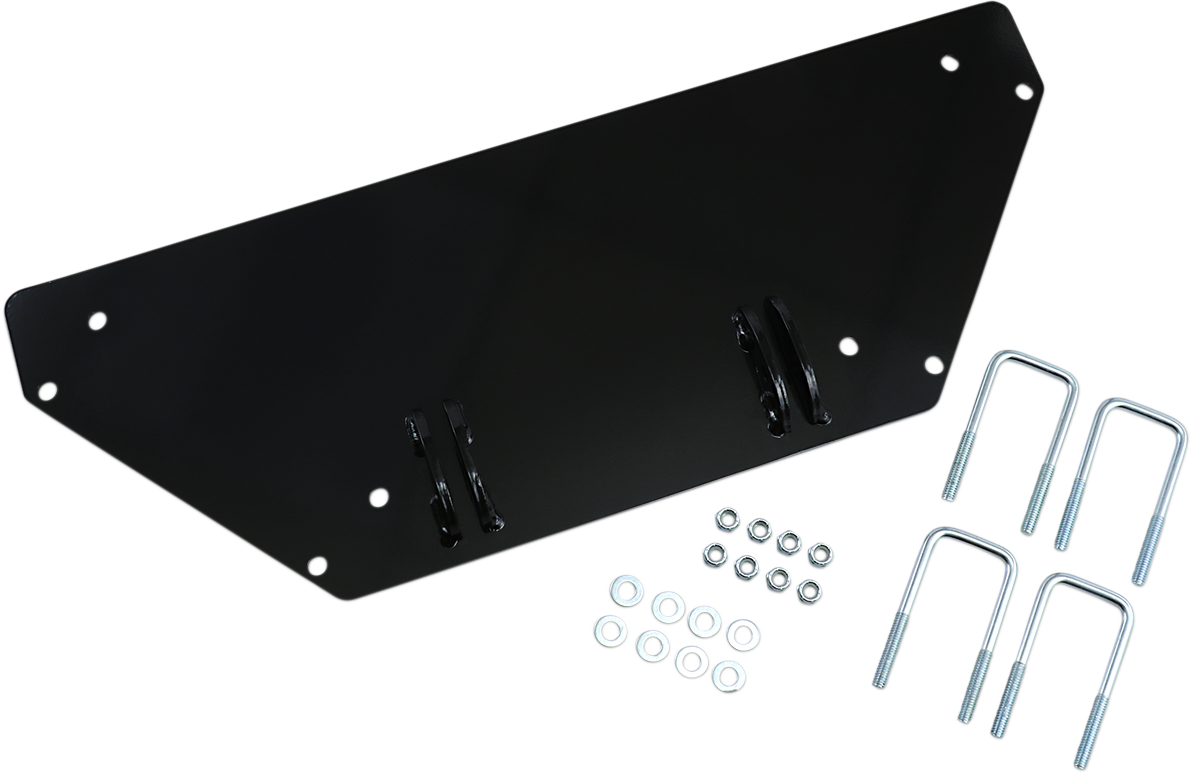 Moose Black Snow Plow Mounting Plate for 11-14 Can-Am Commander 1000 800R 4x4