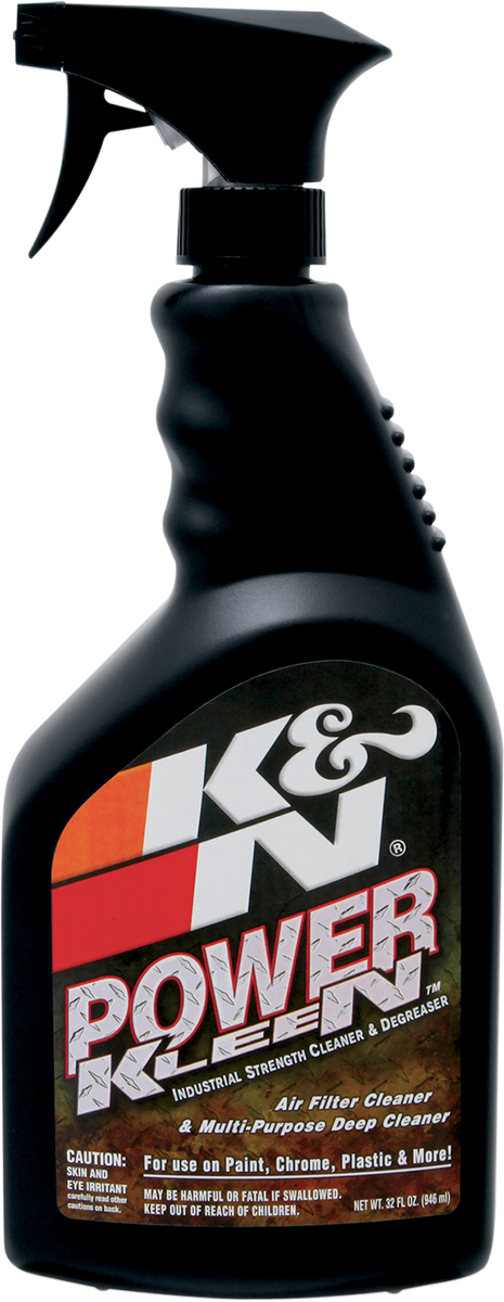 K&N 32oz Power Kleen Motorcycle Offroad Dual Sport Air Filter Cleaner Spray