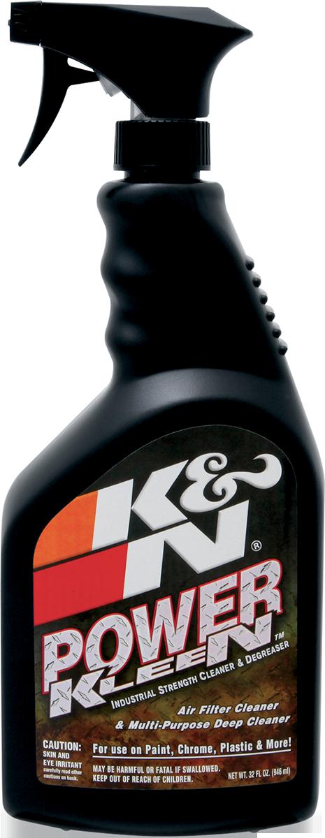 K&N 32oz Power Kleen Motorcycle Offroad Dual Sport Air Filter Cleaner Spray