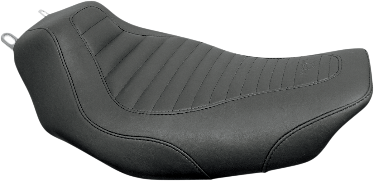 Mustang Tripper Synthetic Leather Solo Seat 97-07 Harley Touring FLHX FLHR FLHRS