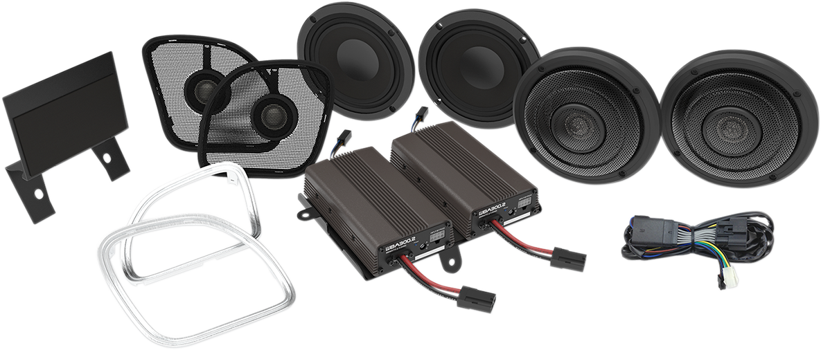 Wild Boar Audio Complete Speaker Kit for 15-18 Harley Touring Road Glide FLTRU