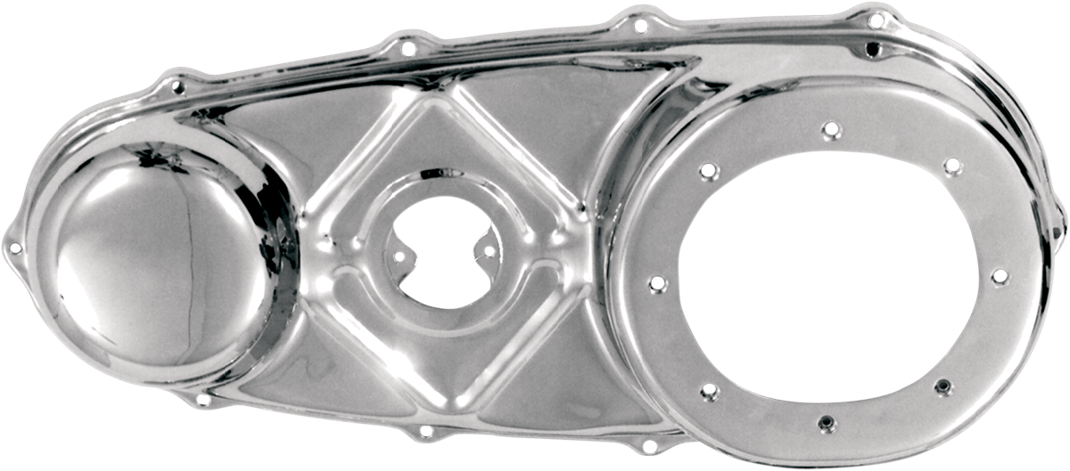 Paughco Chrome Outer Primary Cover for 36-54 Harley Knucklehead Hydra Glide EL