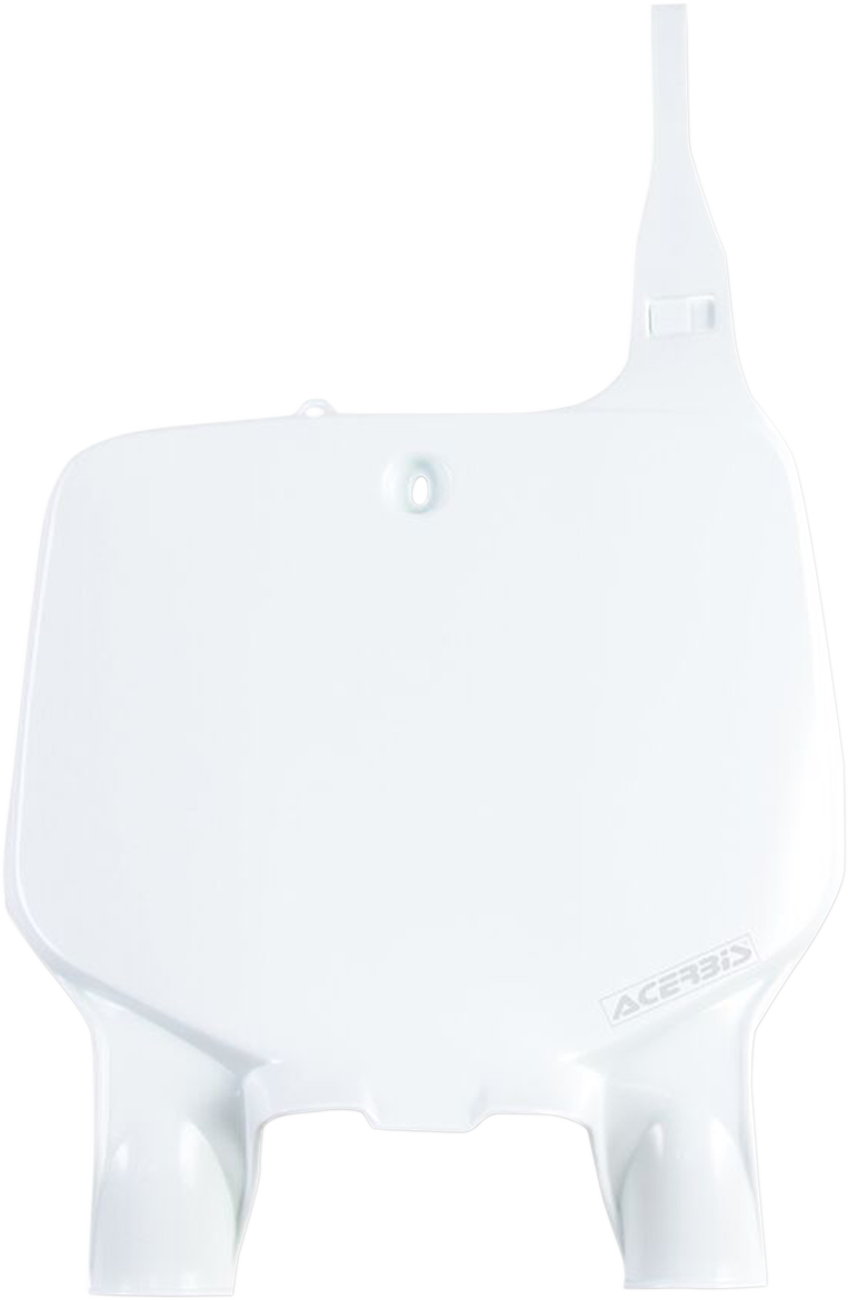 Acerbis Front Number Plate White for Kawasaki KX125 1996-2002