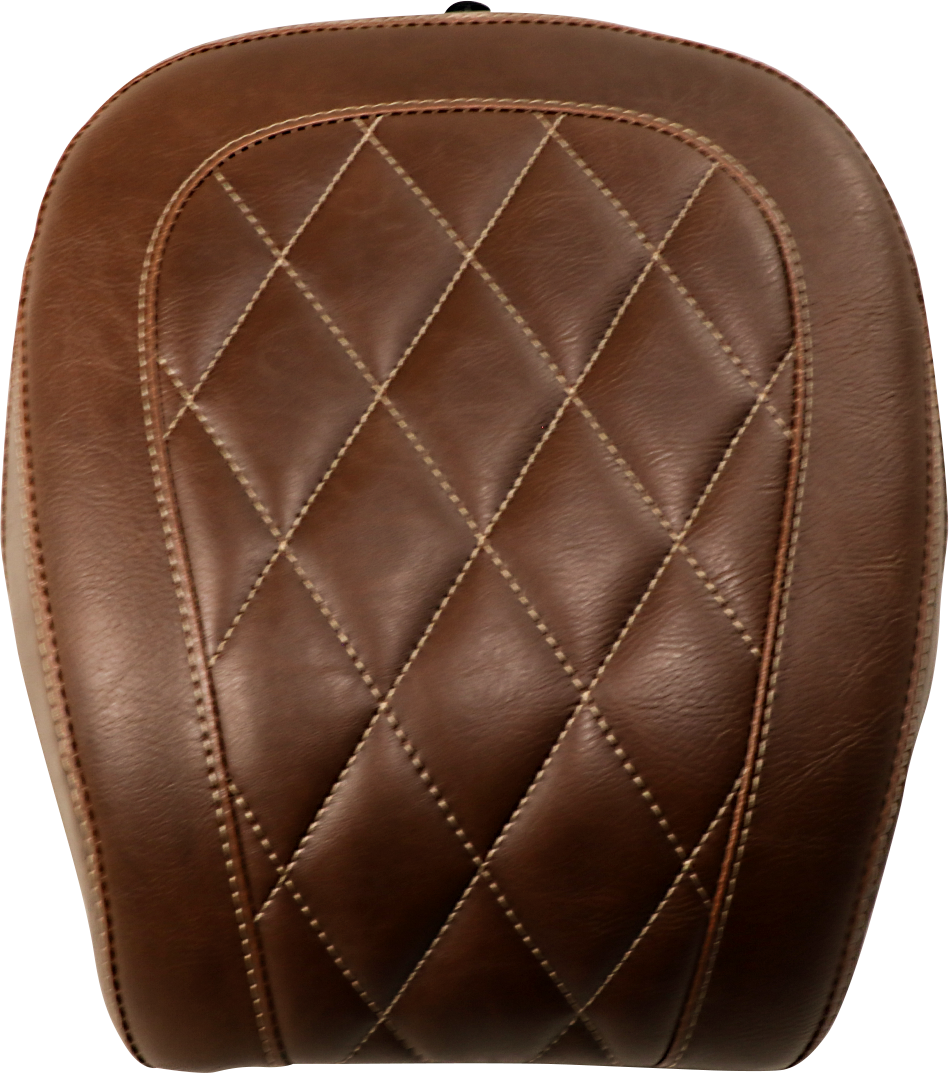 Mustang Tripper Brown Diamond Rear Pillion Pad 18-20 Softail FXBB FXBRS 114
