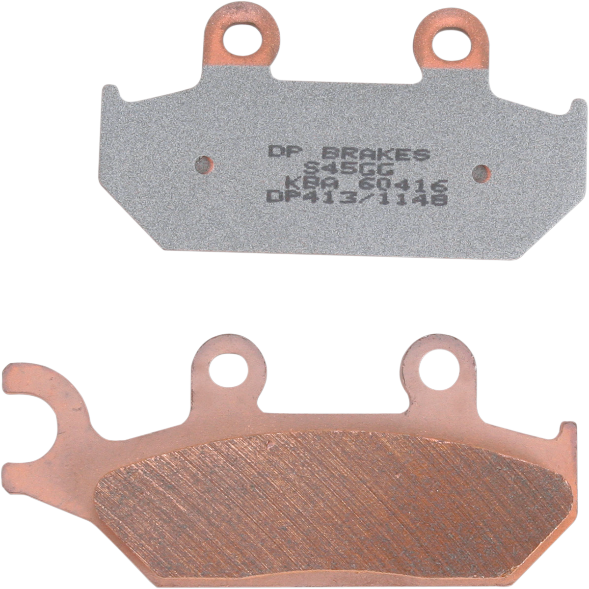 DP Pair Front Sintered Metal Replacement Brake Pads For 90-95 Yamaha XT600