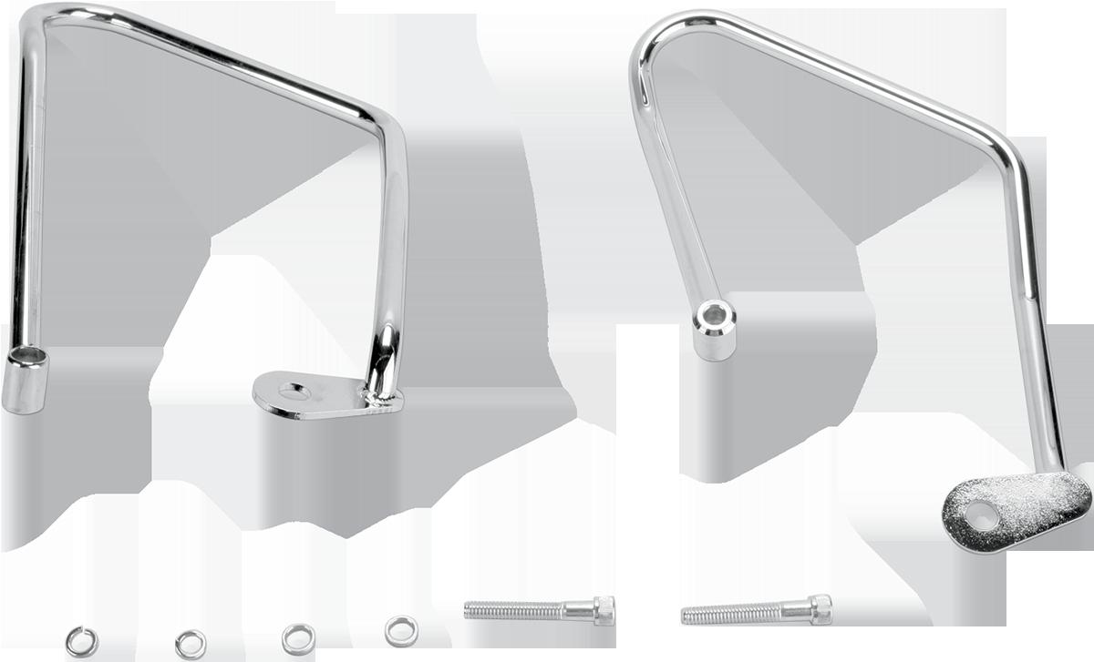 Khrome Werks Chrome Rear Saddlebag Support Kit for 94-03 Harley Sportster XLC