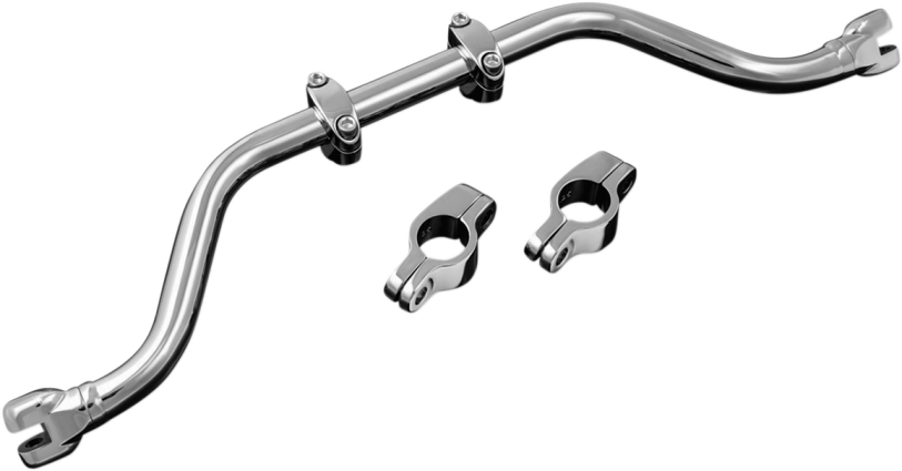 Kuryakyn 7502 Adjustable Chrome Mustache Bar 0-14 Harley